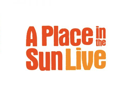 A Place In The Sun Live Logo