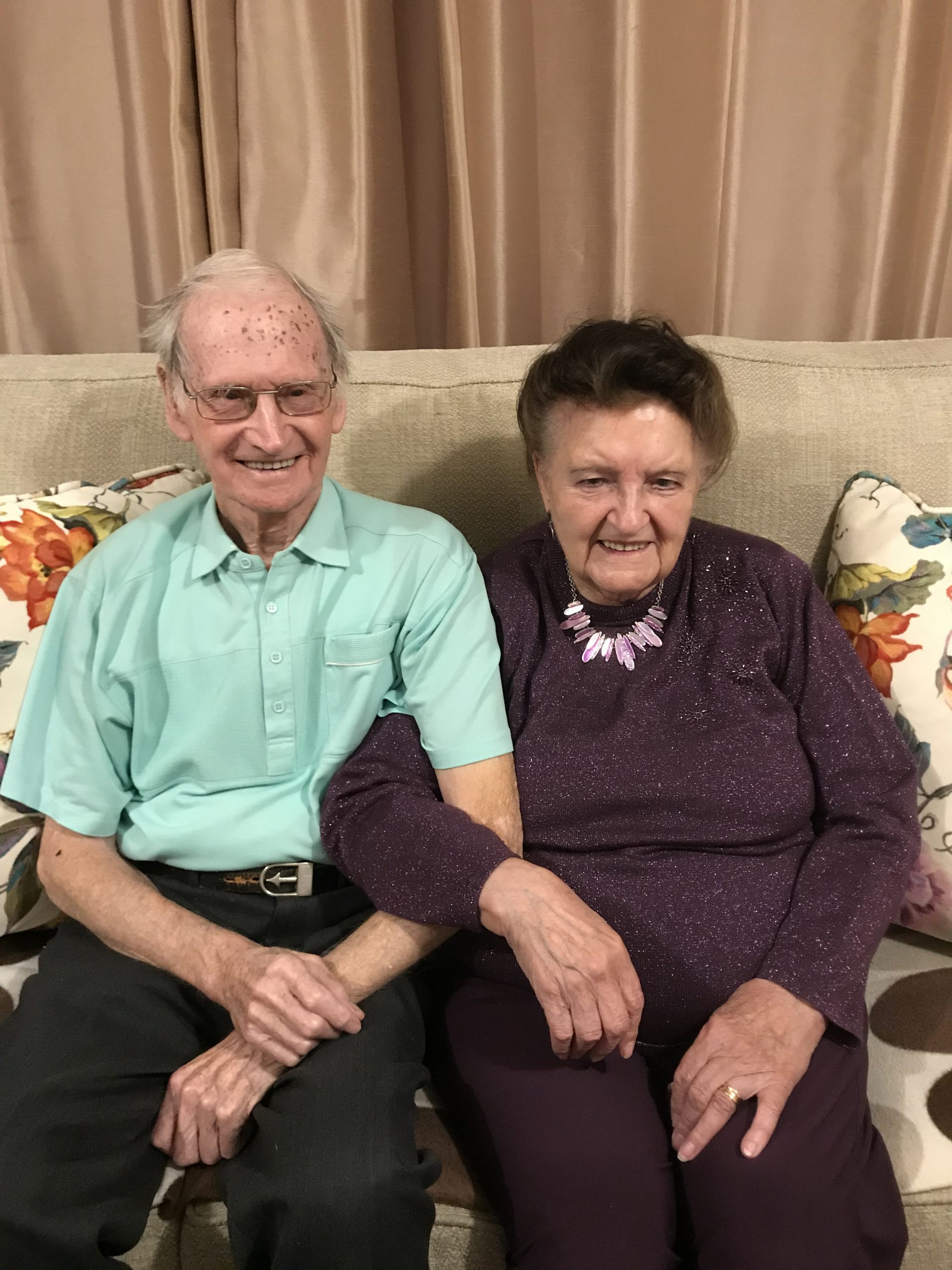 Bill & Peggy Tillott