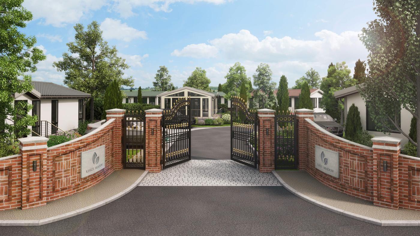 King's Meadow Entrance CGI