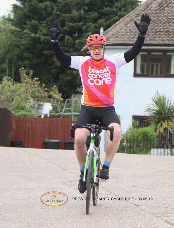 Gavin - Prestige Charity Bike Ride