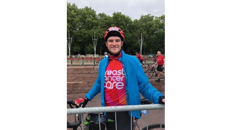 Gavin Leverett, MD London Ride