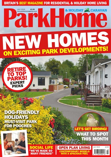 Park Home & Holiday Caravan Front Cover