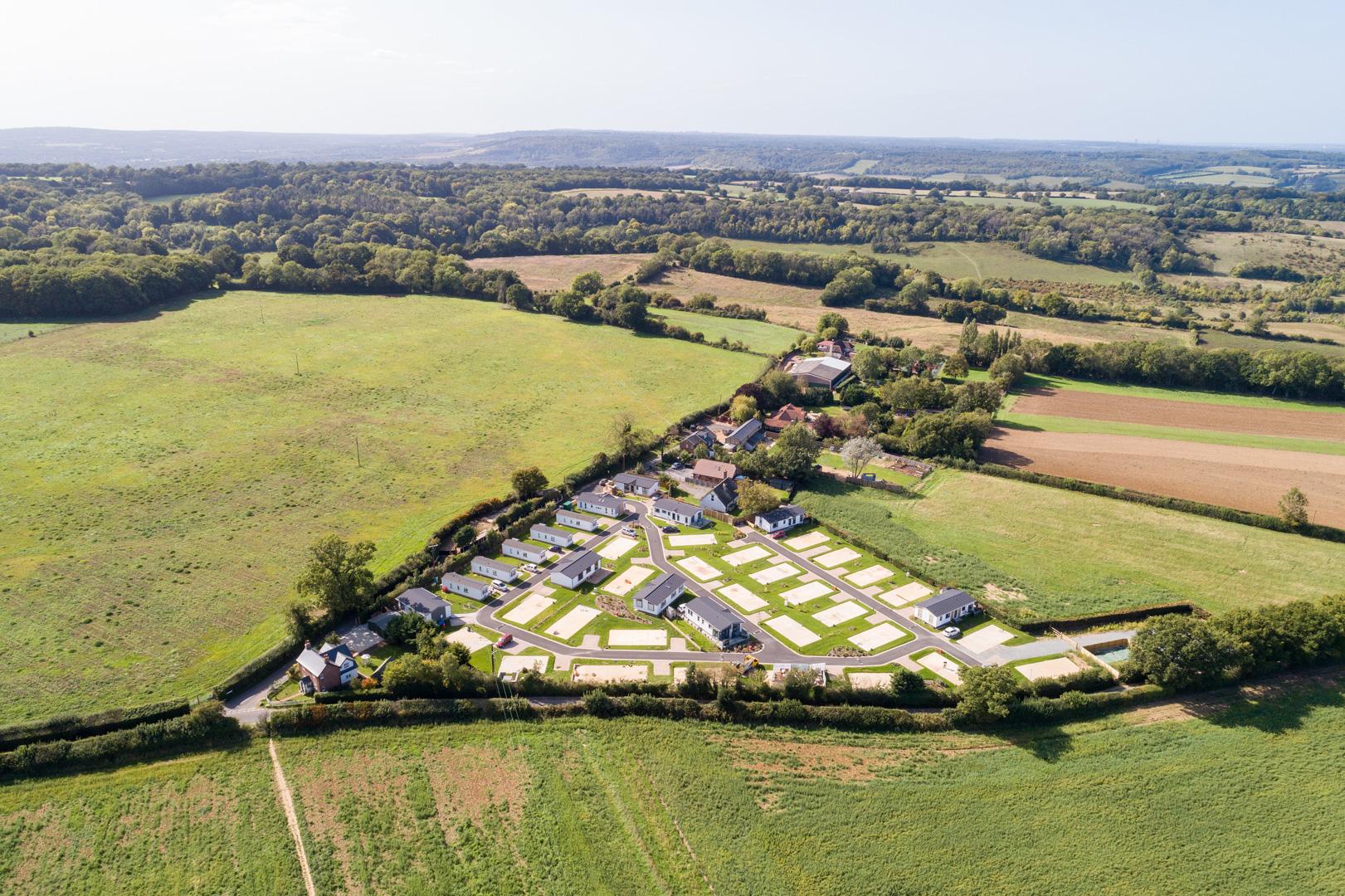 Kingsdown Meadow Aerial View
