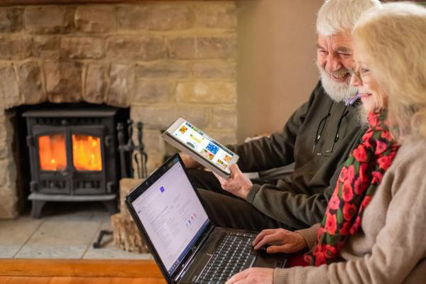 Silver surfers using technology to revolutionise their homes