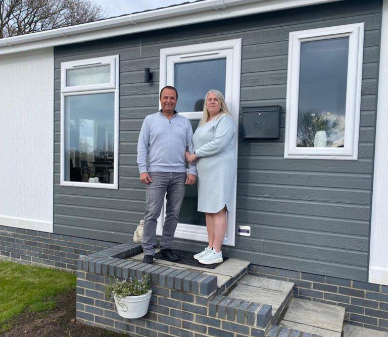 George & Deborah Phillips at Kingsdown Meadow