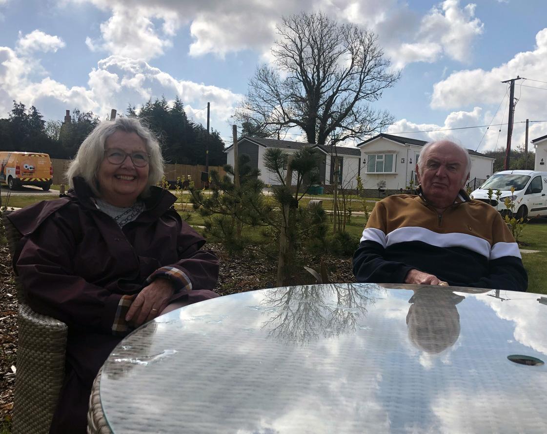 Deanna & Pat McCullagh, Kingsdown Meadow Residential Park