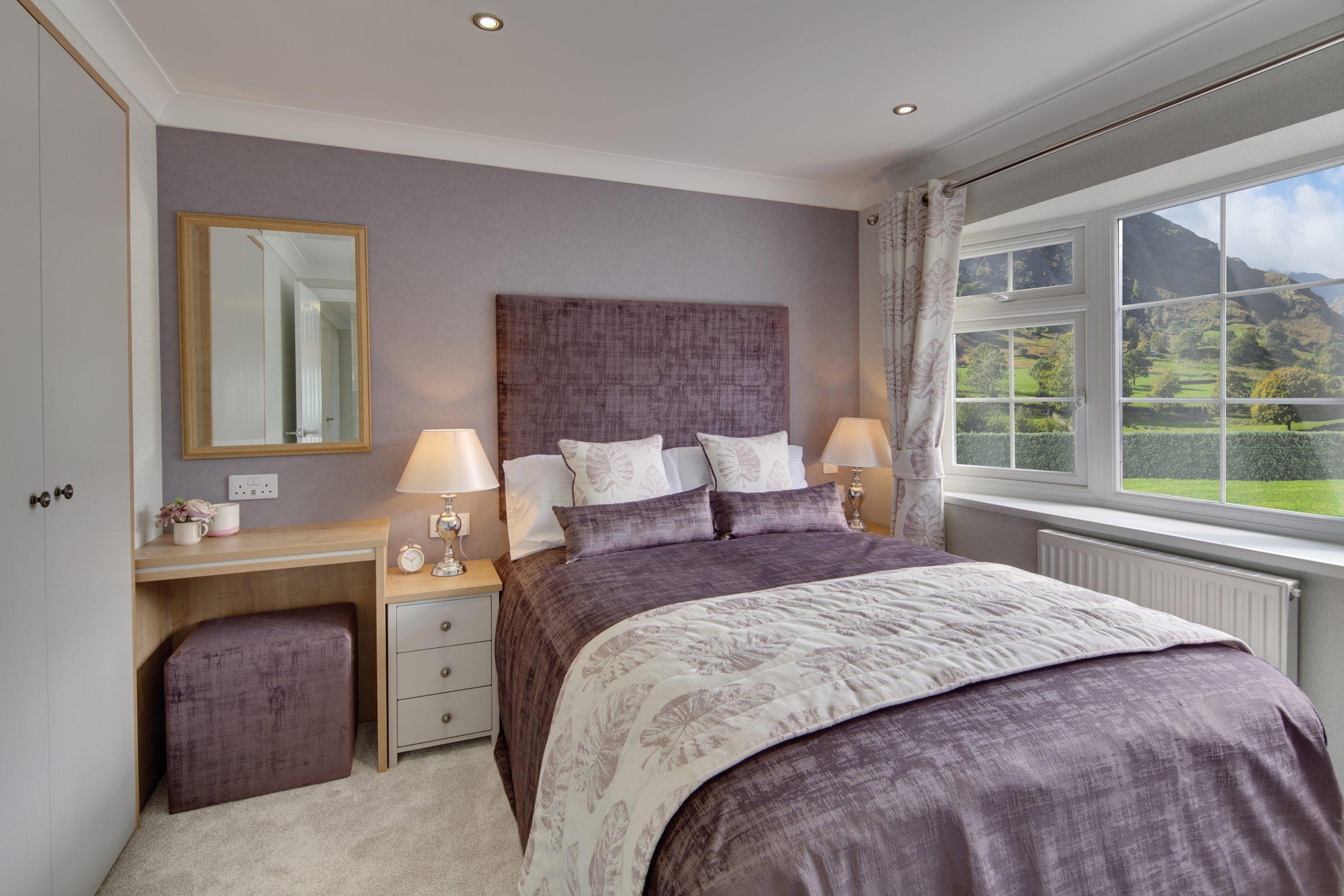 Willerby Hazlewood Master Bedroom
